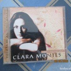 CDs de Música: CLARA MONTES , POEMAS DE ANTONIO GALA - CD - 1998 - EMI ODEON. Lote 210594650