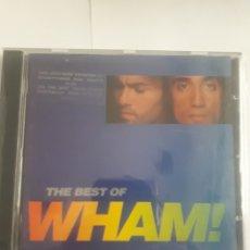 CDs de Música: WHAM. THE BEST OF.. Lote 210596130