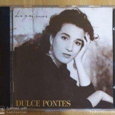 CDs de Música: DULCE PONTES (LAGRIMAS) CD 1993 PORTUGAL. Lote 210601780