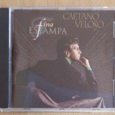 CDs de Música: CAETANO VELOSO (FINA ESTAMPA) CD 1994. Lote 210602002