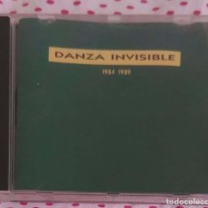 CDs de Música: DANZA INVISIBLE (1984-1989) CD 1989. Lote 210606288