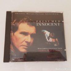 CDs de Música: PRESUNTO INOCENTE - J. WILLIAMS CD. Lote 210606677