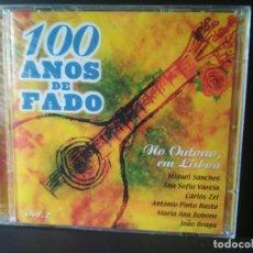 CDs de Música: DOBLE CD 100 AÑOS DE FADO VOL 2 MIGUEL SANCHES , ANA SOFIA VARELA , CARLOS ZEL Y OTROS 2000. Lote 210608698