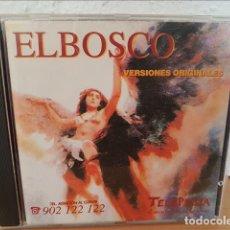 CDs de Música: ELBOSCO..ELBOSCO VERSIONES ORIGINALES,PROMOCIONAL TELEPIZZA 1998 - ELBOSCO. Lote 210608956