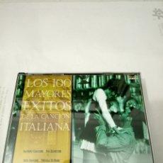 CD de Música: LOS 100 MAYORES EXITOS DE LA CANCION ITALIANA 4 CD. Lote 210611571