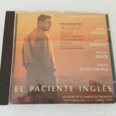CDs de Música: EL PACIENTE INGLÉS BSO CD. Lote 210612771