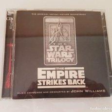 CDs de Música: THE STAR WARS TRILOGY. THE EMPIRE STRIKES BACK. DOBLE CD. Lote 210613348