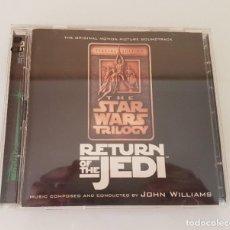 CDs de Música: RETURN OF THE JEDI DOBLE CD. Lote 210613678