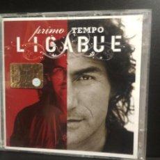 CDs de Música: LIGABUE, PRIMO TEMPO, CD+DVD 2007 ITALIA WARNER PEPETO. Lote 210616183
