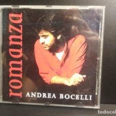 CDs de Música: CD - ANDREA BOCELLI - ROMANZA - 15 TEMAS PEPETO. Lote 210631606