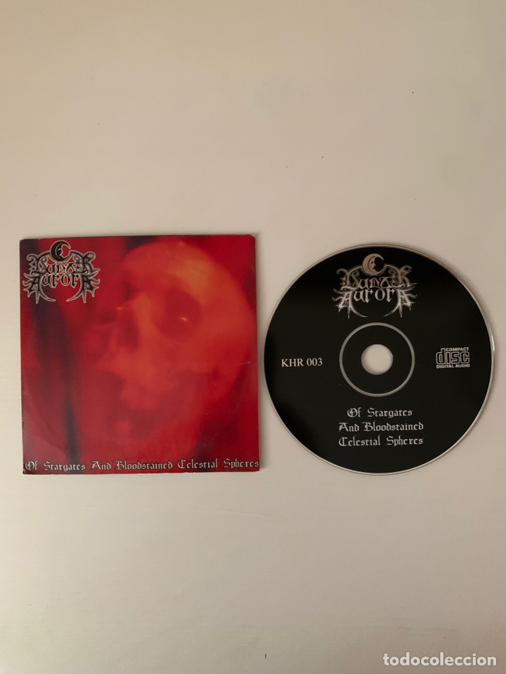"CDs de Música: LUNAR AURORA "" Of stargates and bloodstained celestial shepheres"" cd - Foto 3 - 210631652"