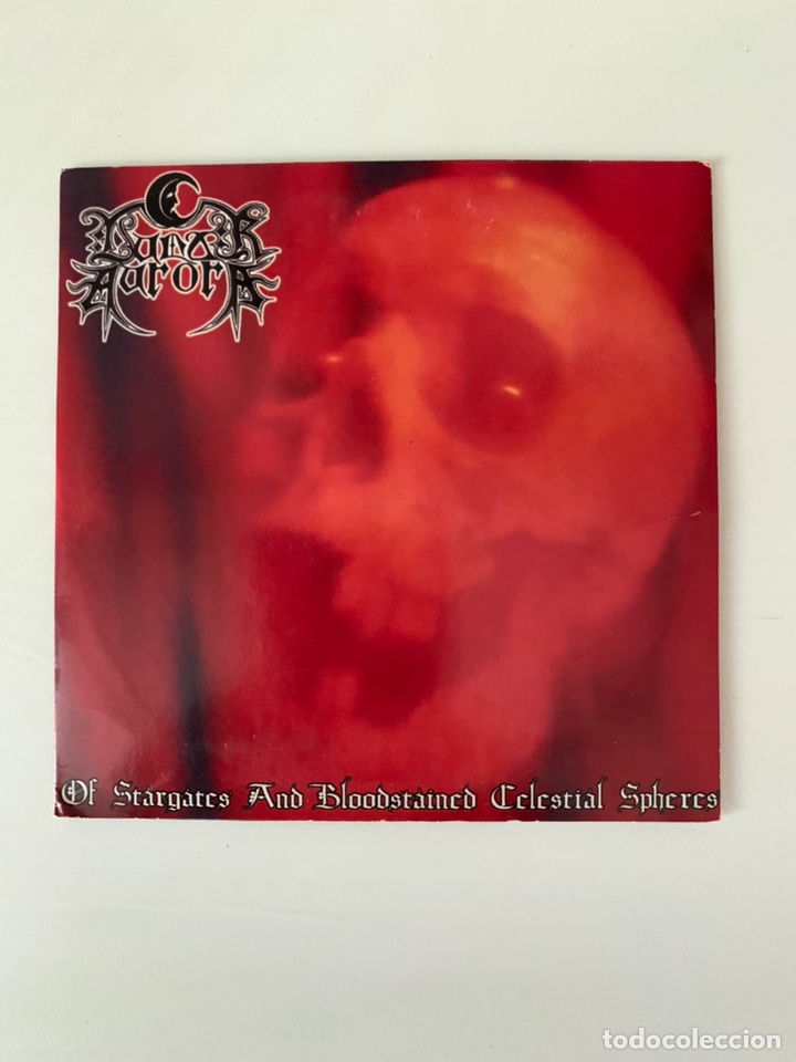 """LUNAR AURORA """" OF STARGATES AND BLOODSTAINED CELESTIAL SHEPHERES"""" CD (Música - CD's Heavy Metal)"""