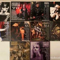 CDs de Música: UNHOLY CROSS CDS LOTE 10 CD. Lote 210633427