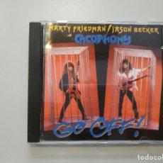 CDs de Música: 0720- MARTY FRIEDMAN JASON BECKER CACOPHONY GO OFF CD NUEVO ! SIN PRECINTAR LIQUIDACION. Lote 210637457