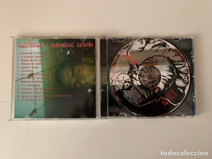 "CDs de Música: HAEMORRHAGE"" Anatomical Inferno "" cd - Foto 3 - 210637668"