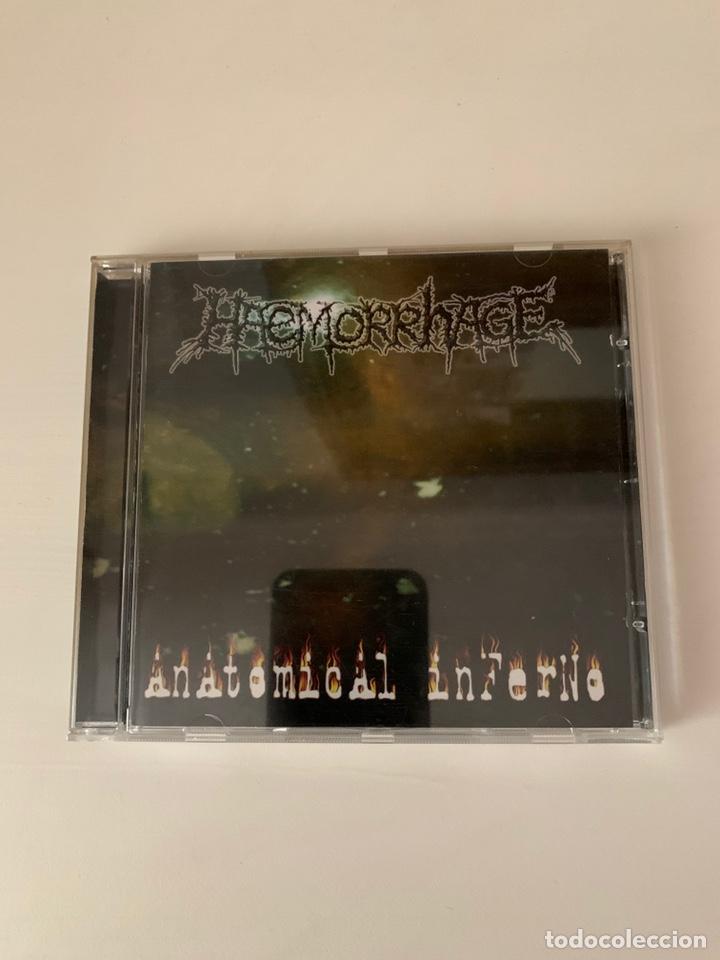 "HAEMORRHAGE"" ANATOMICAL INFERNO "" CD (Música - CD's Heavy Metal)"