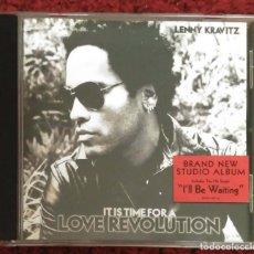 CDs de Música: LENNY KRAVITZ (IT IS TIME FOR A LOVE REVOLUTION) CD 2008. Lote 210652549