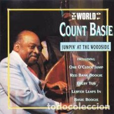 CDs de Música: COUNT BASIE - THE WORLD OF COUNT BASIE - JUMPIN' AT THE WOODSIDE (CD, COMP) LABEL:TRACE (2) CAT#: 0. Lote 210665485