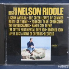 CDs de Música: NELSON RIDDLE ‎– THE BEST OF NELSON RIDDLE - CD. Lote 210667727