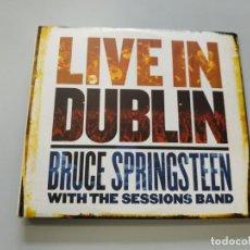 CDs de Música: 0720- LIVE IN DUBLIN BRUCE SPRINGSTEEN & SESSIONS BAND 2 CD DISCO NUEVO! LIQUIDACIÓN. Lote 210672241