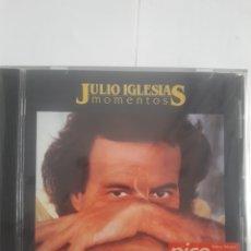 CDs de Música: JULIO IGLESIAS. MOMENTOS. Lote 210672456