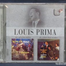 CD di Musica: LOUIS PRIMA - THE CALL OF THE WILDEST/ THE WILDEST SHOW AT TAHOE - CD. Lote 210675839