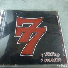 CDs de Música: CD - 7 NOTAS 7 COLORES - 77 - 7 NOTAS 7 COLORES -CD -N. Lote 210678070