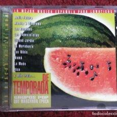 CDs de Música: GRUPOS POP QUE MARCARON EPOCA - CD 1999 (ALASKA, LOS NIKIS, LOS RONALDOS, LA MODE, CIUDAD JARDIN...). Lote 210692387