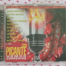 CDs de Música: HUMOR CORROSIVO - CD 1999 (LOS ILEGALES, ALASKA & LOS PEGAMOIDES, LOS INHUMANOS, PACO CLAVEL...). Lote 210692576