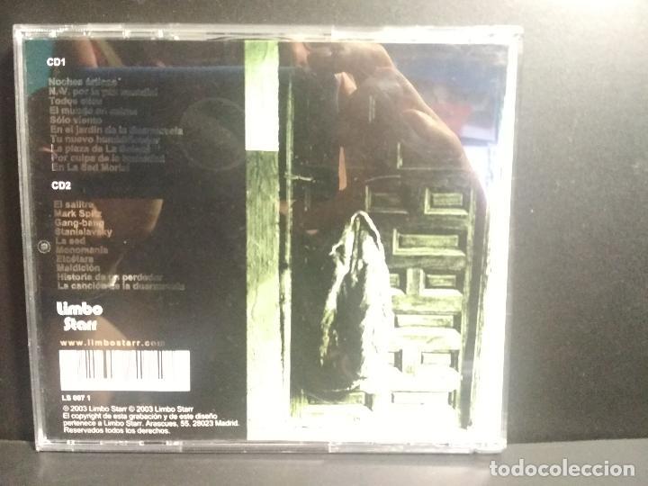 CDs de Música: DOBLE CD NACHO VEGAS CAJAS DE MUSICA DIFICILES DE PARAR. COMO NUEVO¡¡ 2003 PEPETO - Foto 2 - 210700145