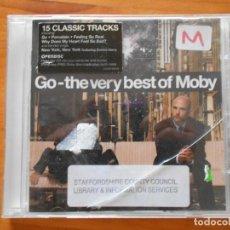CDs de Musique: CD GO - THE VERY BEST OF MOBY - LEER DESCRIPCION (6I). Lote 210718785