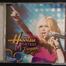 CDs de Música: DISNEY CHANNEL CD + LIBRETO HANNAH MONTANA FOREVER WALT DISNEY RECORDS. Lote 210721514