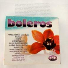 CDs de Música: BOLEROS DOBLE CD. Lote 210724555