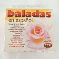 CDs de Música: BALADAS EN ESPAÑOL DOBLE CD. Lote 210724730