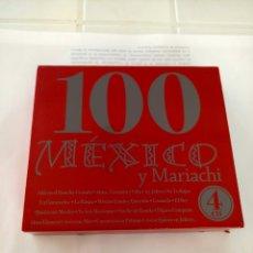 CDs de Música: 100 MEXICO Y MARIACHI 4 CD. Lote 210724956