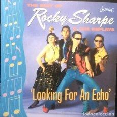 CDs de Musique: THE BEST OF ROCKY SHARPE & THE REPLAYS - CD RECOPILATORIO. Lote 210725906