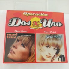 CDs de Música: MARI TRINI DOS X UNO 2 CD. Lote 210726355