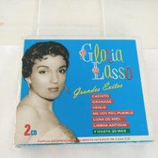 CDs de Música: GLORIA LASSO GRANDES EXITOS 2 CD. Lote 210726757