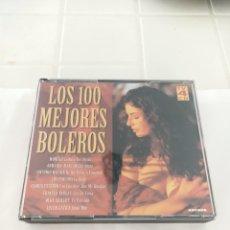 CDs de Música: LOS 100 MEJORES BOLEROS 4 CD. Lote 210727176