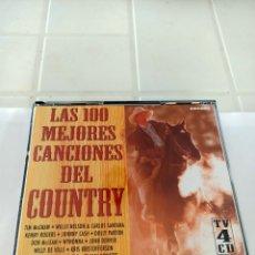 CDs de Música: LOS 100 MEJORES CANCIONES DEL COUNTRY 4 CD. Lote 210727579