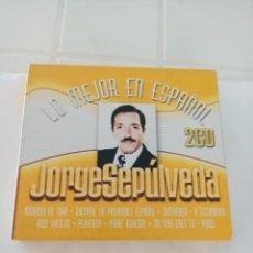 CDs de Música: JORGE SEPULVEDA LO MEJOR EN ESPAÑOL 2 CD. Lote 210727907