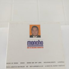 CDs de Música: MONCHO MIS 45 BOLEROS FAVORITOS 3 CD. Lote 210728442