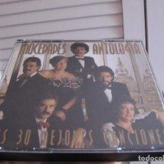 CDs de Música: CD DOBLE - MOCEDADES - ANTOLOGÍA SUS 30 MEJORES CANCIONES 1994 ESTUCHE GORDO. Lote 210728992