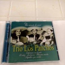 CDs de Música: TRIO LOS PANCHOS UN MINUTO DE AMOR. Lote 210729402