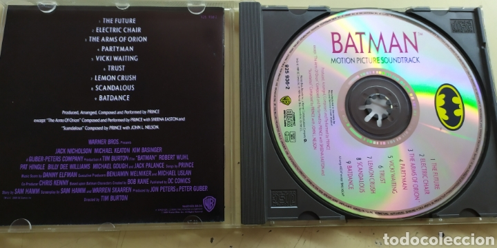 CDs de Música: Batman / Motion picture Soundtrack / cd original - Foto 3 - 210739949