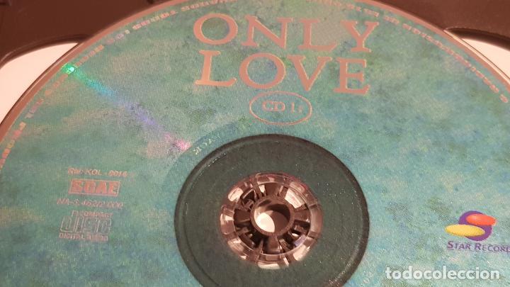 CDs de Música: 5 X CD / ONLY LOVE / PACK 5 CDS CON 60 TEMAS / SOLO AMOR / CDS DE LUJO. - Foto 2 - 210740510
