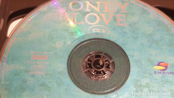 CDs de Música: 5 X CD / ONLY LOVE / PACK 5 CDS CON 60 TEMAS / SOLO AMOR / CDS DE LUJO. - Foto 3 - 210740510