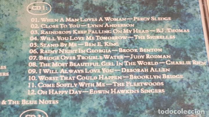 CDs de Música: 5 X CD / ONLY LOVE / PACK 5 CDS CON 60 TEMAS / SOLO AMOR / CDS DE LUJO. - Foto 7 - 210740510