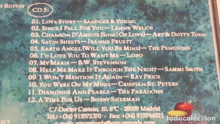 CDs de Música: 5 X CD / ONLY LOVE / PACK 5 CDS CON 60 TEMAS / SOLO AMOR / CDS DE LUJO. - Foto 11 - 210740510