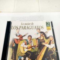 CDs de Música: LOS PARAGUAYOS LO MEJOR 2 CD. Lote 210742657